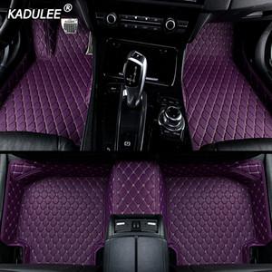 Personalizzato tappetino pavimento piede dell'automobile per BMW F10 x5 e70 e53 x4 x3 f11 E83 F48 x1 E90 X6 E71 F34 E70 E30 accessori auto impermeabile