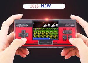 YENİ 3inch ekran Pro Taşınabilir El Oyunları 2 Oyuncu Ailesi 348 AVG RPG ACT FC C3 LD LB LA CHX-40P TV Out destekler NES