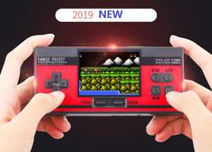 tela de 3 polegadas NOVO NES Pro Portable jogos portáteis Suporta 2 Player Família 348 AVG RPG ACT FC C3 LD LB LA CHX-40P TV Out