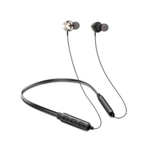 New Bluetooth 5.0 wireless sports headset neck magnetic Bluetooth headset intelligent Bluetooth headset,DHL transport