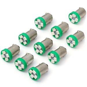 Winsun 10pcs 1156 BAS9 SMD 3528 4 LEDs 0.2W Reversing Backup Fog Turn Light Bulb T10 SMD3528 Automobile Fog Lamp Reverse Light Turn Signal