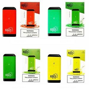 8 estilos Ezzy de ar descartável dispositivo Pod Vape Pen 2,7 ml vaporizador 500 puffs Vape Pen E-Cigarros Puf Além disso Oval Xtra Pen