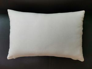 Canvas Kissenbezüge Blank Kissenbezug 12x18 Blank Cotton Kissenbezug Großhandel Medium Gewicht Natürlicher Leinen Kissenbezug Blanks für DIY