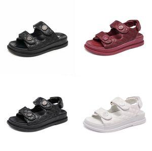 Yeni Kadın Sandalet Yaz Rahat Sahte Süet Düz Comfortablesize 34-40 Casual Ayakkabı Zapatos Mujer Boyut Ayakkabı 34-40 Yp-87 CO02 # 598