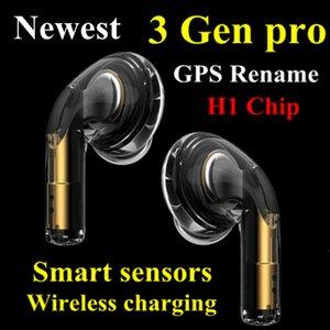 Valid serial number AP3 pro Wireless Charging Generation 3 Sensor rename h1 chip Bluetooth Headphones auto paring Earphones pop up windownes