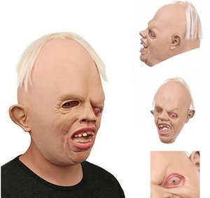 Gros- haute qualité horrible monstre adulte Masques latex facial respirant Halloween mascarade masque Costume Party cosplay costume