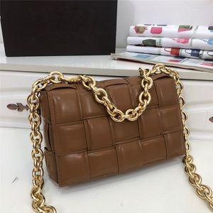 cuoio di alta qualità signore di modo diagonale borsa metallica a fogli mobili fibbia piazzetta borsa classica tendenza portatile ragazze borse telefono borsa a tracolla