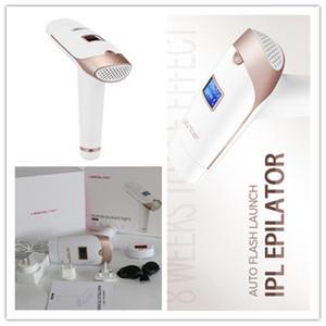 5pcs par lot DHL gratuit Lescolton Laser Hair Removal Machine Accueil Pulsed Light 300000 permanent Mini utilisation à domicile IPL Épilation