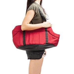 New Arrival Pet Puppy Carrier Outdoor Travel Handbag Pouch Mesh Oxford Single Shoulder Bag Sling Mesh Comfort Travel Tote Shoulder Bag