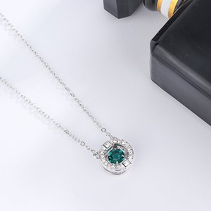 Hot 2020 New Luxury Beating Heart Necklace Pendant For Women Girlfriends Mothers Gift Short Clavicle Necklace