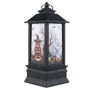 Halloween LED Night Lights Festival Products Wind Lights Decorations Fire Lights Portable Lamps Ghost Light