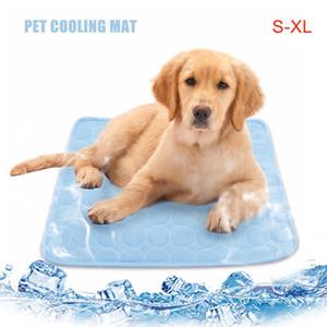Perro de mascota verano de refrigeración Calchotenas perro perros Cama para el verano pequeño / medio / perros grandes / los gatos domésticos Cool del sofá amortiguador del colchón para Cat