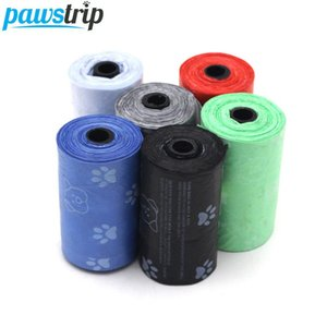 10roll = 200шт Pet Carrier Dog Waste Bag Портативный Открытый Pick Up Clean разлагаемых Dog Poop Bag