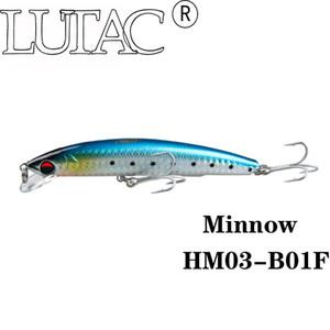 Lutac lourd minnow flottant minnow De Pêche Dur Leurre hm03a 110mm / 19g artificielle Baitin stocks engins de pêche