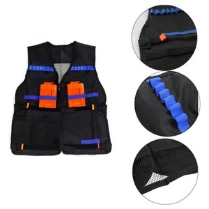 Kids Tactical Waistcoat Magazine Ammo Holder Kit Game Guns Accessories Toys for N-Strike Elite Series Bullets Gifts Toy