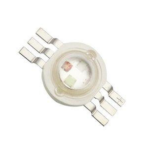20mm 스타 PCB 히트 싱크와 높은 전력 3W RGB LED 램프 구슬 빨강 + 녹색 + 청색 LED 전구 다이오드 SMD 칩