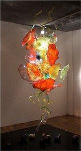 2020 Newest Hand Blown Glass Chandelier Plate Design Lamp LED Saving Light Source Excellent Art Decoration Pendant
