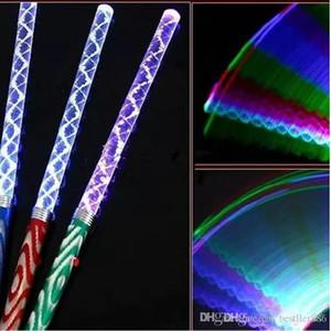 Popüler LED Cheer Glow Çocuk Oyuncakları Noel Konseri doğum günü partisi Kaynaklarının Renkli Değişti Flaş Wand Sticks