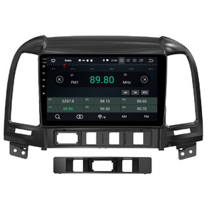 "4 GB + 64 GB PX5 9 ""Android 8.0 Car DVD GPS Unità di testa Glonass per Hyundai Santa Fe 2006-2012 RDS Radio Bluetooth WIFI Mirror-link"