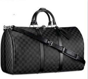 2019 venta caliente más nuevo diseñador mujeres de los hombres bolsa de viaje bolsa de lona Marca de equipaje bolsos de gran capacidad Bolso Sport 60 CM 999