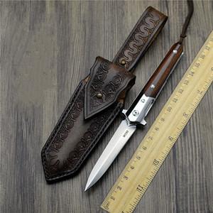 작은 칼 접는 나이프 M390 철강 야외 접는 나이프 티타늄 합금 도구 캠핑 방어 나이프 도구