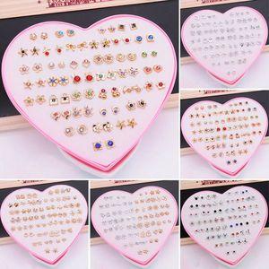 36 pares Polymer Clay brincos jóias artesanais de frutas brincos para mulheres Meninas Meninos