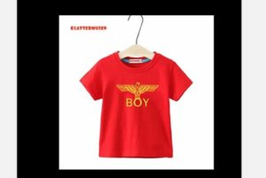 Boy's short sleeve T-shirt 2020 new summer fashion children's cotton T-shirt boy baby cartoon top