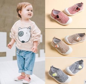 3`lü Mix Toptan Sonbahar Bebek Yürüyor Kız Erkek Casual Mesh Ayakkabı Yumuşak Alt Yüksek kaliteli Kaymaz Kid Bebek İlk Yürüteçler