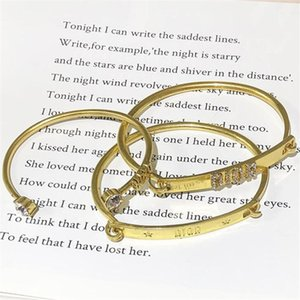 Birthday Gifts for Female Classic Rings Bracelet 3 Style Women Diamond Bangles Travelling Personality Trendy Lady Bracelet Jewelry