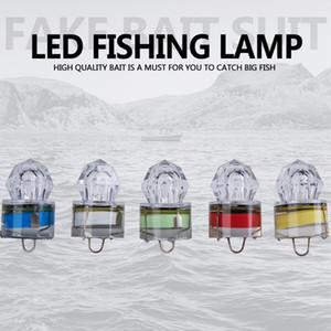 LED 깊은 수중 다이아몬드 낚시 깜박이는 빛 미끼 미끼 오징어 스트로브 인기있는 심해 물고기 램프 ZZA418