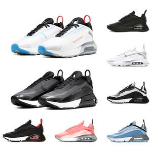 Nike Air Max 2090 Мужчины Женщины Кроссовки Чистая Платина Утка Камуфляж Разведенный Тройной Черный Белый 2090 s Мужские Спортивные Кроссовки Размер 36-45