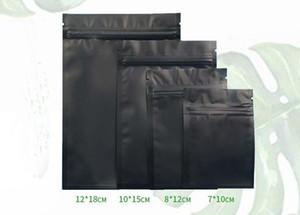 Promoção coloridas Selagem Bolsas Zip bloqueio Rasgue Notch Metallic Mylar Plano Zip Package Bloqueio saco para 1000pcs Pó máscara