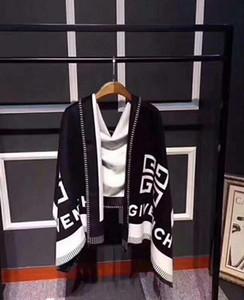 Les marques de luxe de la mode 2019 présentent un foulard thermique pour femme, châle de créateur en laine, hiver 190 * 70cm