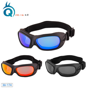الاستقطاب صامد للريح الغبار للدراجات النارية نظارات UV400 نظارات تزلج على الطرق الوعرة سباق نظارات نظارات قابل للتعديل مطاطا باند