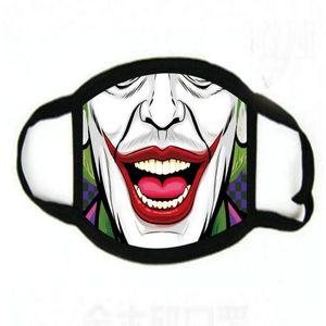 Personalizar la cara del cráneo caliente Máscara reutilizable historieta de la impresión cubrebocas Con Mica ultravioleta Prueba lavable Correr trustbde montar en bicicleta protector