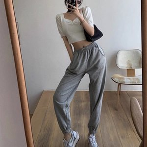 2020 high quality ladies pants sets tops + trousers 2pcs spring and summer casual sets fashion clothing A3ZW