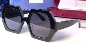 Neues Mode-Design Frauen-Sonnenbrille 0708 quadratische Rahmen Funktion populär Avantgarde Laufsteg Stil hochwertige uv400 Schutzbrille