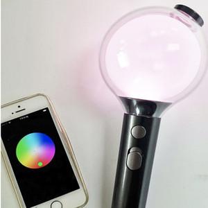 1pc liberano BTS versione 4 esercito bastone di incandescenza della luce con blueteeth