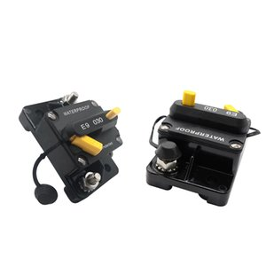 2pieces 30A manual Repor Circuit Breaker 48V Para Car Audio Boat