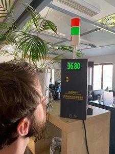 FaceRecognition Temperature Measuring Access Control