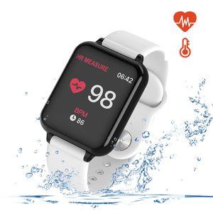 reloj inteligente para ios teléfonos inteligentes Android pulsera reloj deportivo SmartWatch IP67 Rastreador de fitness impermeable para al aire libre