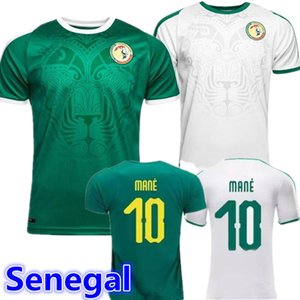 НОВЫЙ 2019 год Футбол Сенегала Джерси Лучшие тайские качества Чемпионат мира по футболу 2018 года Сенегал МАНЕ футбольная команда футболка Футболка форменная форма