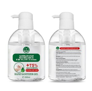 Cura sana 500ml Hand Sanitizer risciacquo libero Dry Sanitizer Personali Viaggi Mini Hand Sanitizer della famiglia disinfettante Bagno Giocattoli CCA11981A