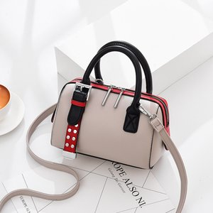 CHISPAULO Fashion Hand Bags Patchwork Casual Leather Bag Korean Style Bucket Bag Crossbody Bags For Women Business