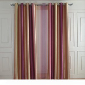 Customized European Style Colorful World Window Treatment Blackout Curtain for Living Room Blackout Drapes Free Shipping