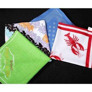 Japão 50 * 50cm Toalha Wipe 20pcs Impresso Lenço do Lenço Sul e Korea Algodão Bolso Toalha Efeui