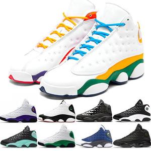 Top Quality Mens13 13s Man Flint scarpe da basket Reverse He got game Atmosfera Grey Baroni sporco Bred Jumpman Sport Sneakers Trainers