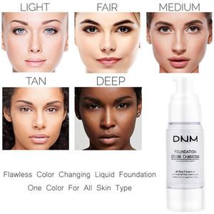 2019 DNM سحر لا تشوبه شائبة تغيير لون الجلد مؤسسة الغلاف مرطب مؤسسة اللون السائل كريم 2 الألوان