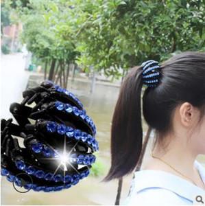 Vogels Nest Korea Multi Bohrer Mit Zahn Rutschfeste Haarspangen Frühlingsknospe-ähnliche Frisur Schachtelhalm Schnalle Haarschmuck Werkzeuge HA234