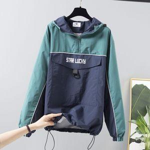 Women's Hoodie Sweatshirts Fashion 2020 Long Sleeve Casual Oversize Ladies Pullovers Pocket Hooded Jacket Streetwear Tops P727